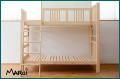 ひのき2段ベッド