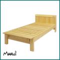 ひのき宮付シングルベッド