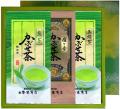 贈答用 こだわり限定茶 かぶせ煎茶+玉緑茶+雁ヶ音詰合