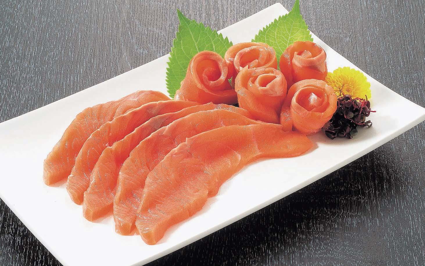 さしみ鮭スライス ASU8