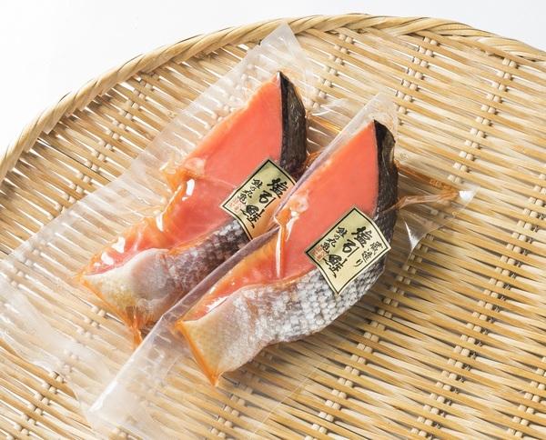 紅鮭 蔵造り塩引鮭切身(2切) BBP16