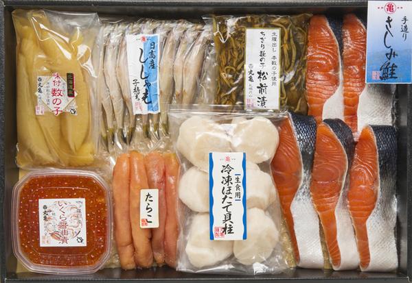 さしみ鮭と季の味覚七色詰合せ VAH119