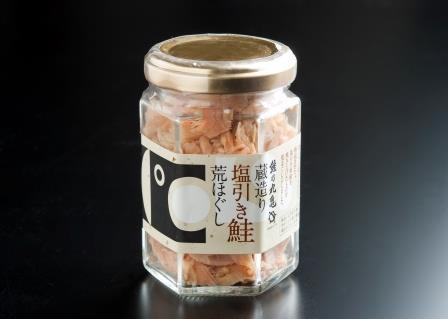 塩引鮭のあらほぐし 80g 【冷蔵品】 BYH8