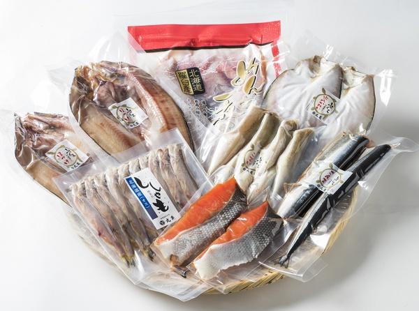 時不知鮭と一夜干しの7種賑わいセット OTG100