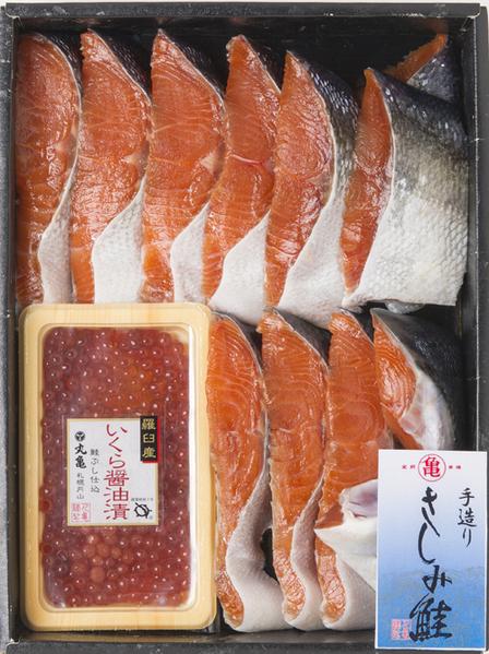 さしみ鮭秋さけといくら詰合せ ASI90