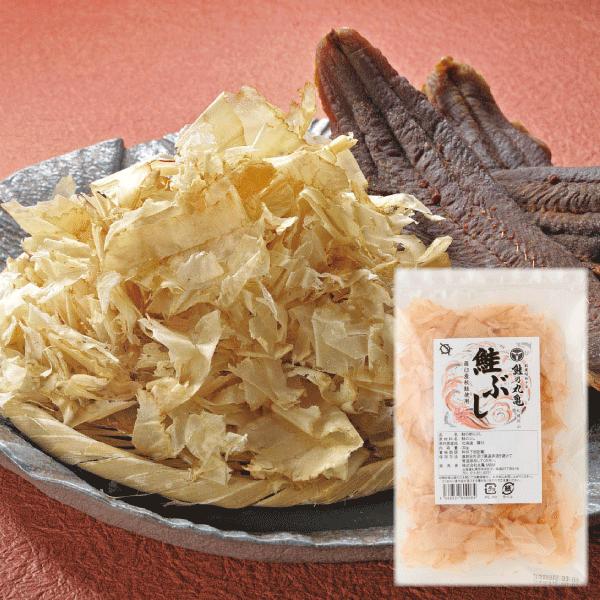 ≪10/25以降発送≫【羅臼産秋さけ使用】鮭ぶし(30g) ABB3