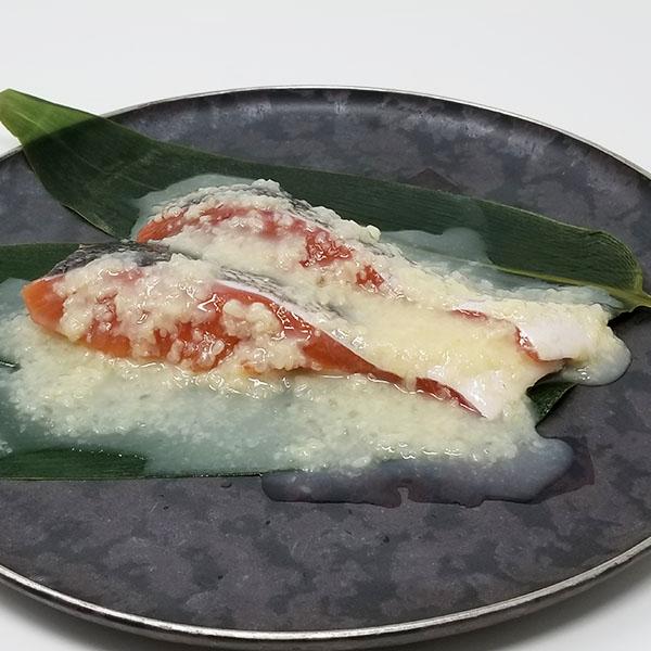 塩麹漬秋鮭切身 2切 AKD902