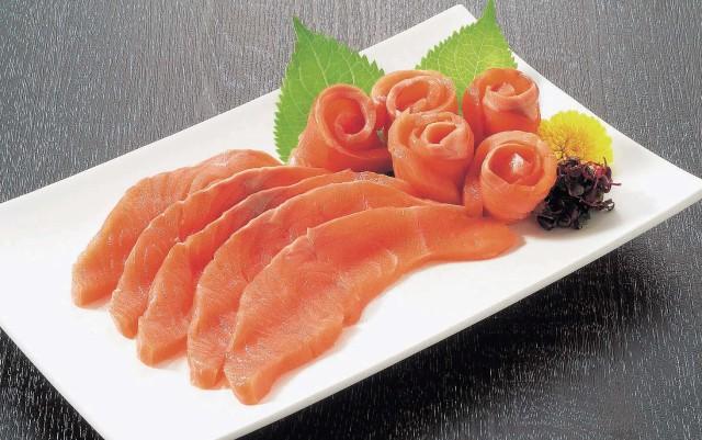 さしみ鮭スライス
