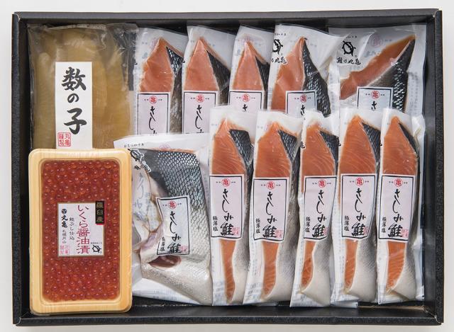 さしみ鮭バラエティ詰合せ VAH71