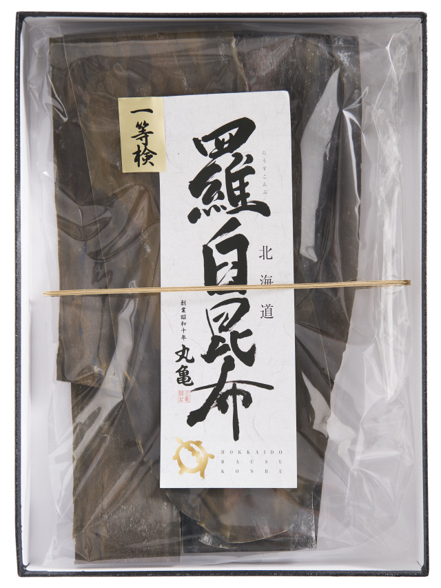 天然一等検 羅臼昆布(化粧箱入) 258g RK25