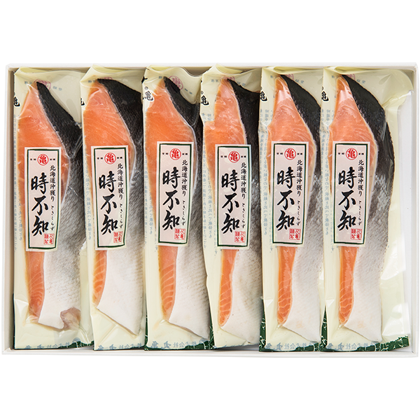 沖獲り時不知(焼用甘塩)6切れ(化粧箱入) OTH54