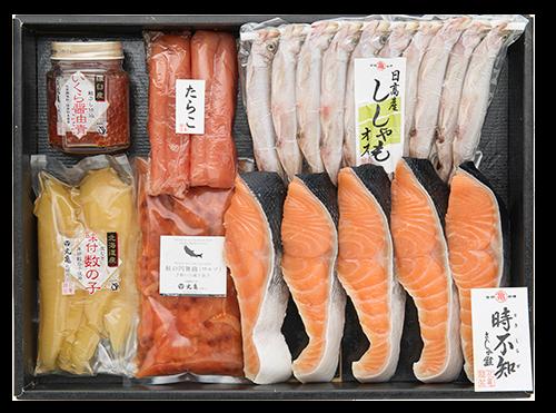 さしみ鮭時不知の六色詰合せ VTH105 【12月末迄限定商品】
