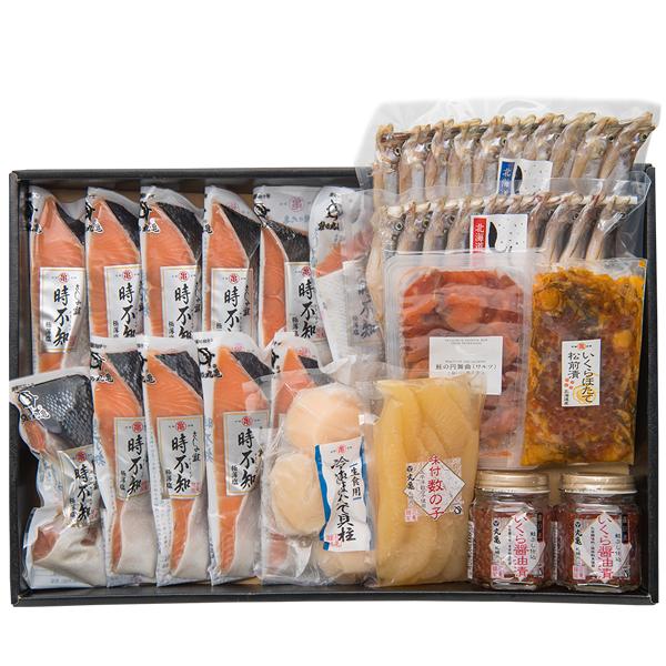 【すべて北海道産】さしみ鮭時不知8種極み詰合せ VTH190
