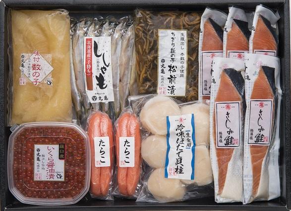 さしみ鮭と季の味覚七色詰合せ VAH125