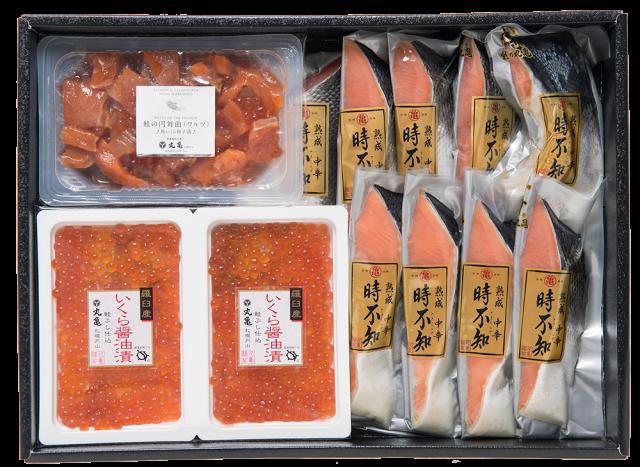熟成焼用中辛時不知魚卵詰合せ VTT70