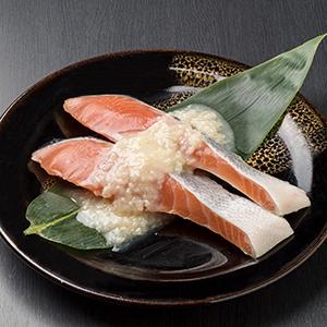 【北海道産】秋さけ塩麹漬切身 2切 AKD902