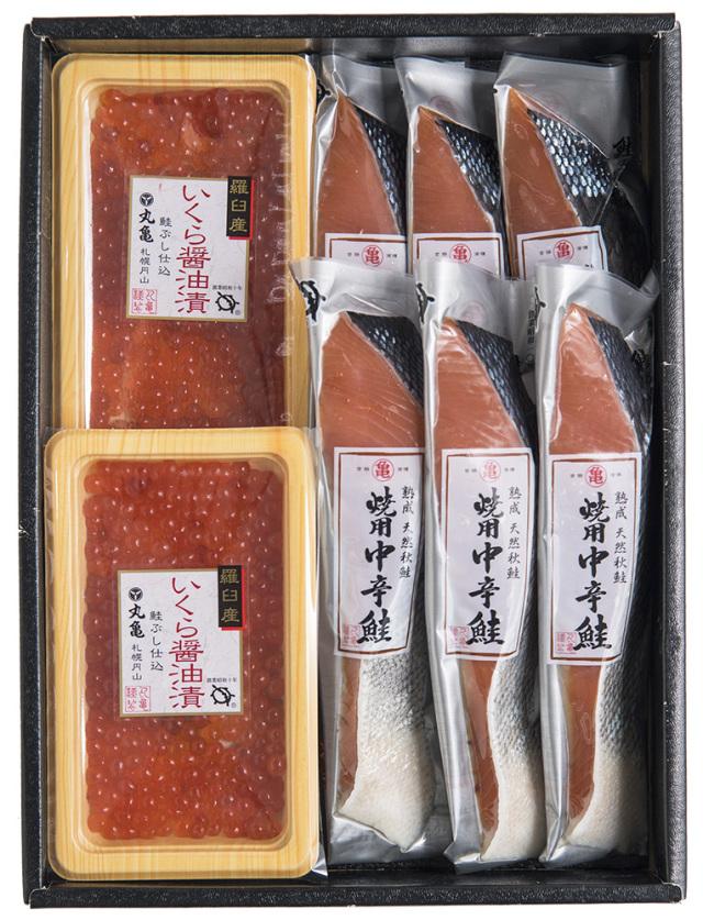 熟成中辛鮭といくら醤油漬詰合せ ATI54