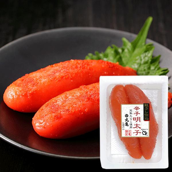 鮭ぶし仕込辛子明太子 130g 【冷凍品】