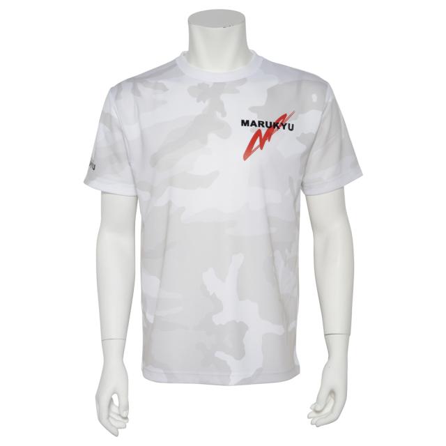 ドライカモフラージュTシャツMQ02 ホワイトウッドランド