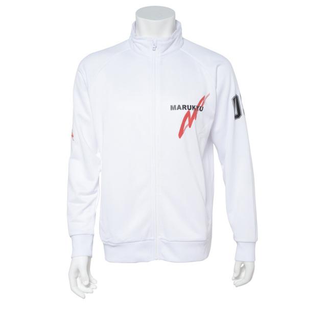 ドライジャージージャケットMQ01 ホワイト