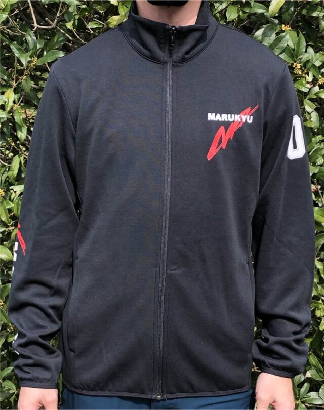 ドライスウェットジップジャケットMQ01/ブラック