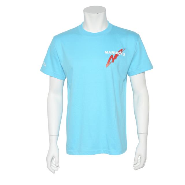 半袖TシャツMQ02/アクアブルー