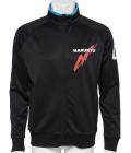ドライジャージージャケットMQ01 ブラック/ターコイズ