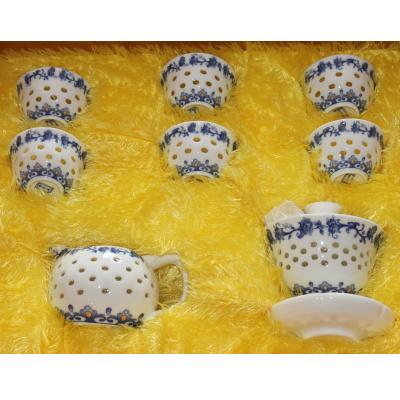 中国茶器 【景徳鎮茶器セット】けいとくちん茶器セット
