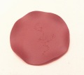 紫砂で作られた 『茶托 ちゃたく 梅の花模様』茶雑貨