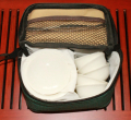 中国茶器セット【旅行用携帯ポーチ付き 茶器セット】送料無料