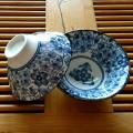 中国茶器【茶杯 青花 2個セット】茶器