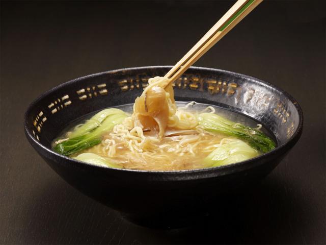 ふかひれラーメン(乾麺)の調理イメージ