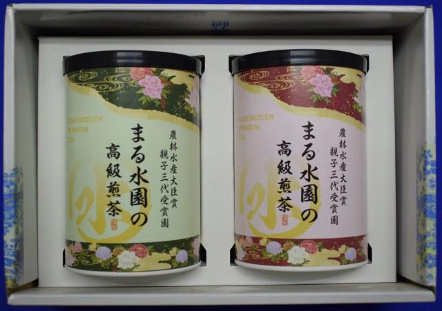 高級茶2紙缶セット