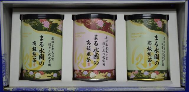 高級茶3紙缶セット