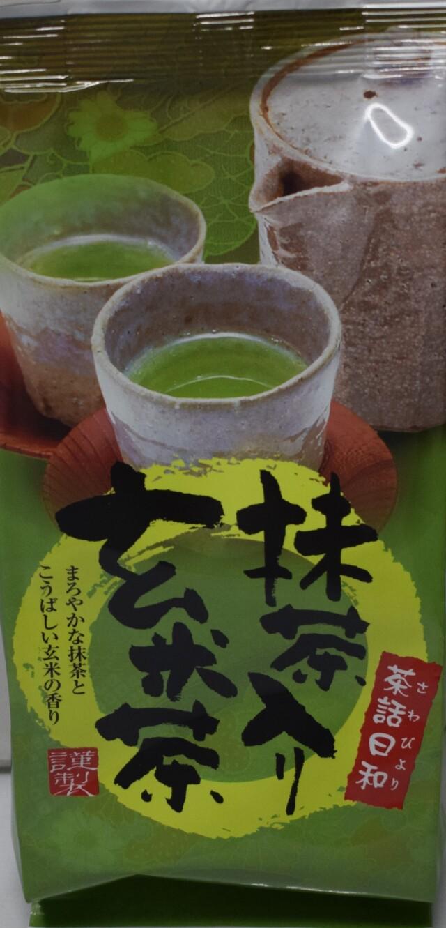 抹茶玄米茶 150g入
