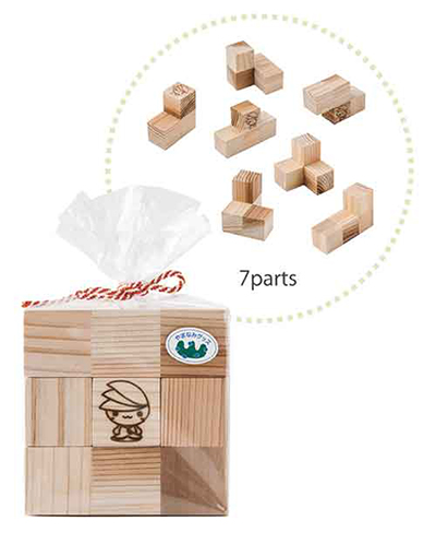 ミウルの「森のパズル」