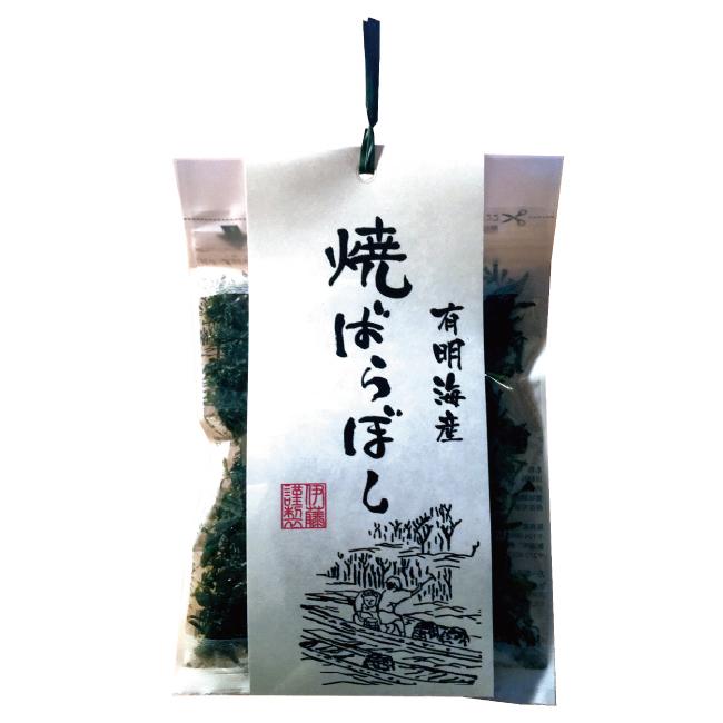 有明海産 そのまま食べられる 焼ばらぼし 海苔 8g 《短冊のしあり》