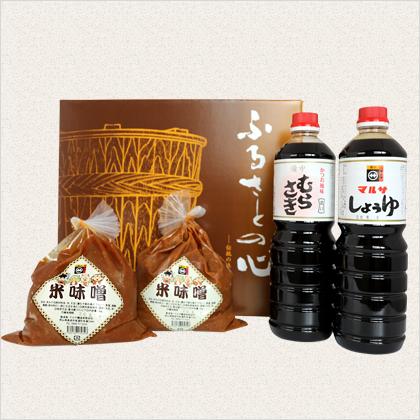 米味噌&1Lしょうゆ詰め合わせセットA