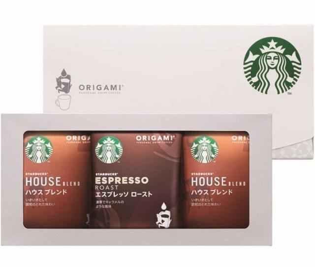 スターバックス オリガミ パーソナルドリップ コーヒーギフト