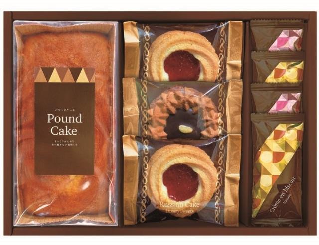 ロシアケーキ&焼き菓子セット