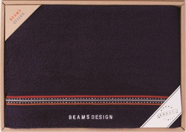 BEAMS DESIGN〈ラインドット〉 バスタオル