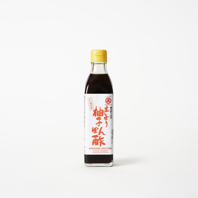 生しぼり柚子ぽん酢 300ml