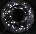 耐水性LED100球ライト(W)常点用グリーンコードセット