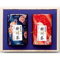 上掛川深蒸し茶 老寿 ちりめん/100g缶×2本入