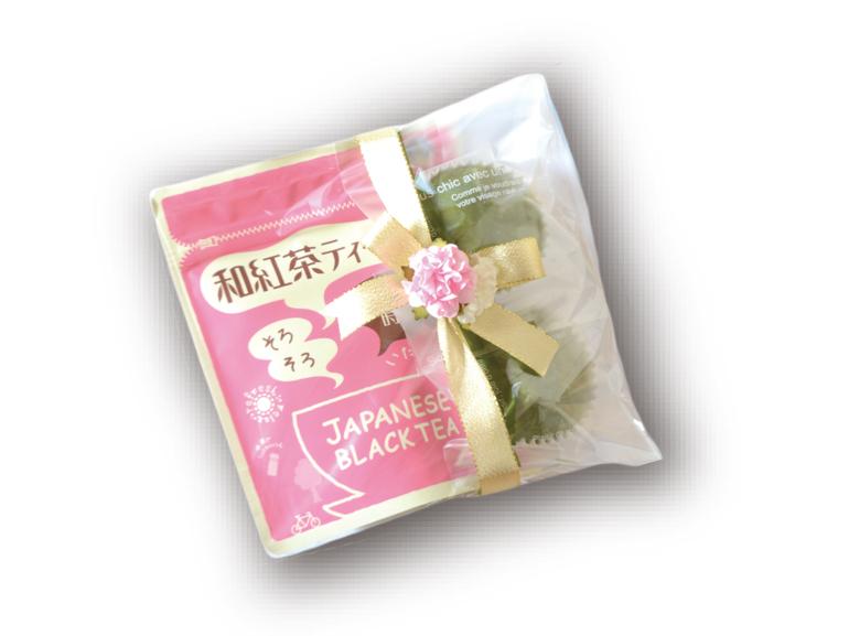 静岡和紅茶ティーバッグと静岡茶マドレーヌのセット