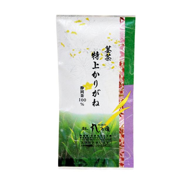 掛川深蒸し茶 茎茶 特上かりがね/100g 真空パック