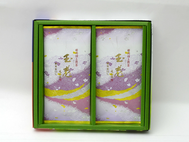 特上掛川深蒸し茶 特上煎茶 玉老(ぎょくろう)/100g×2本 箱入【掛川深蒸し茶 通販 贈り物 ギフト】