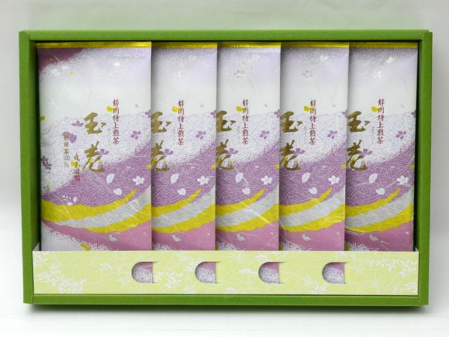 特上掛川深蒸し茶 特上煎茶 玉老(ぎょくろう)/100g×5本 箱入【掛川深蒸し茶 通販 贈り物 ギフト】