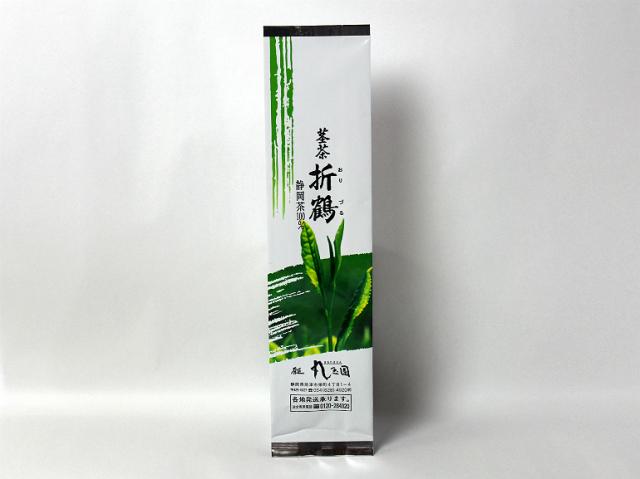 掛川深蒸し茶 茎茶 折鶴(おりづる)/334g 真空パック