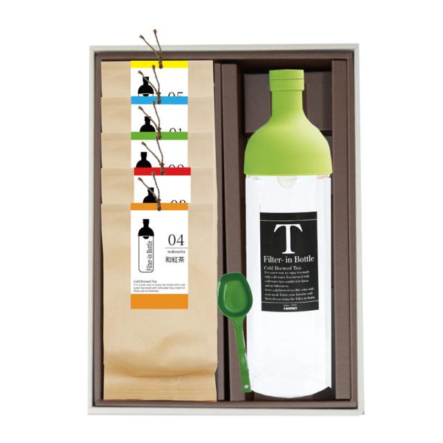 フィルターインボトル(750ml)+冷茶専用茶5袋セット